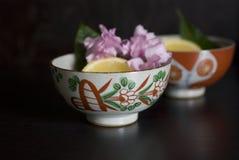 Cuvette de thé asiatique Images stock