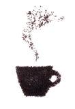 Cuvette de thé chaud image stock