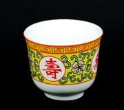 Cuvette de thé chinoise Photographie stock