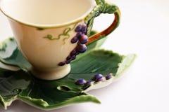 Cuvette de thé créatrice Photo stock