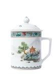 Cuvette de thé de Chainese Photo libre de droits
