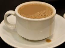 Cuvette de thé de lait Photos libres de droits