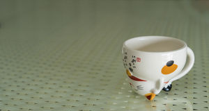 Cuvette de thé japonaise image libre de droits