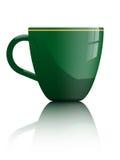 Cuvette de thé ou de café Images stock