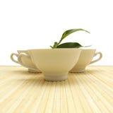 Cuvette de thé - style de vie sain Conce Photo libre de droits
