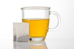 Cuvette de thé vert Photos libres de droits