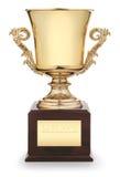 Cuvette de trophée Image stock
