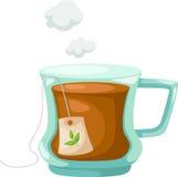 Cuvette de vecteur de thé Image libre de droits