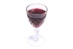 Cuvette de vin rouge Image stock