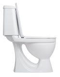 Cuvette des toilettes Photographie stock libre de droits