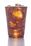 Cuvette en plastique avec le bicarbonate de soude Image libre de droits