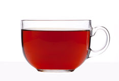 Cuvette en verre de thé Image stock