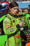 Cuvette et Danica répandu par tout le pays Patrick de NASCAR Sprint Photos libres de droits