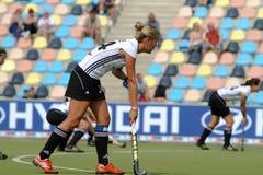 Cuvette européenne Allemagne 2011 de l'Allemagne V Belgium.Hockey Photo stock