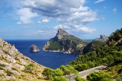 Cuvette Formentor photographie stock