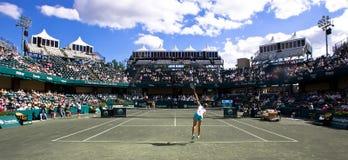 Cuvette le 16 avril de Cirlce de famille d'excursion de Sony Ericsson WTA Images libres de droits