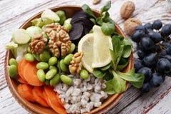Cuvette végétarienne de Bouddha Image libre de droits