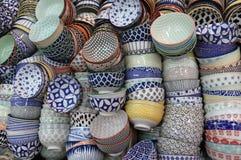 Cuvettes chinoises de porcelaine Images stock