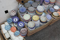 Cuvettes chinoises de porcelaine Images libres de droits