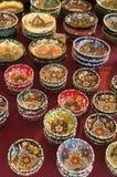 Cuvettes décoratives Photographie stock