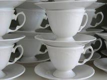 Cuvettes de café Photographie stock libre de droits