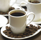 Cuvettes de café Photos libres de droits