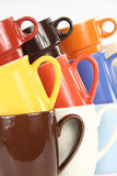 Cuvettes de café Image libre de droits