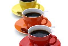 Cuvettes de café. Images stock