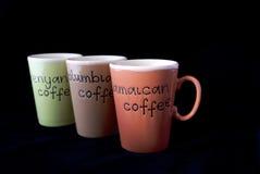 Cuvettes de café Photo stock