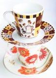 Cuvettes de café Photo libre de droits