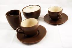 Cuvettes de café Images stock