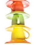 cuvettes de couleur Photo libre de droits