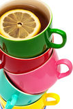 cuvettes de couleur Photographie stock libre de droits