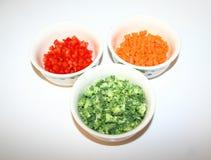 Cuvettes de légumes Photos libres de droits