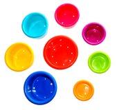 Cuvettes de la pièce d'enfants Image libre de droits