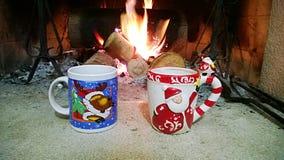 Cuvettes de Noël Photos stock