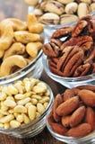 Cuvettes de noix photos libres de droits