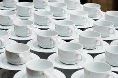 Cuvettes de pause café Image libre de droits
