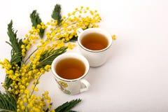 cuvettes de thé Photo libre de droits