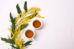 cuvettes de thé Images libres de droits