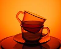 cuvettes de thé Image libre de droits