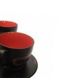 Cuvettes pour le thé Image stock