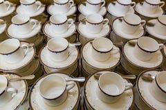 Cuvettes pour le thé et le café Image stock
