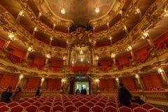 Cuvillies teater - Munich, Tyskland Fotografering för Bildbyråer