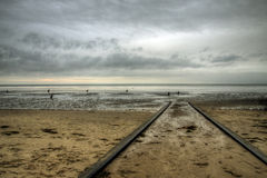 Cuxhaven Beach, Germany Stock Photography