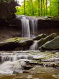 Cuyahoga Valley Waterfall Stock Photography