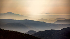 Cuyamaca Mountains royalty free stock photography