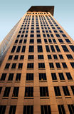 Cuyhoga County Court House. An upward view of the Cuyahoga County Courthouse in downtown Cleveland, Ohio USA royalty free stock image