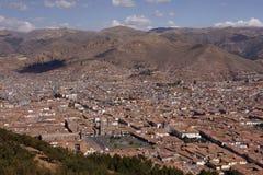 cuzco秘鲁视图 图库摄影