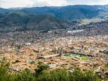 cuzco秘鲁 免版税库存照片